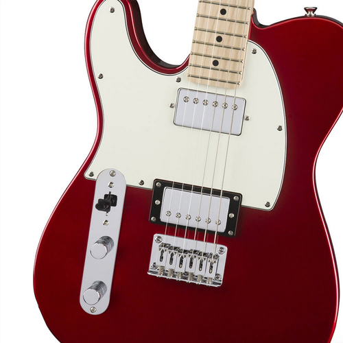 Squier Contemporary LH Telecaster Electric Guitar in Dark Metallic Red 0321229525